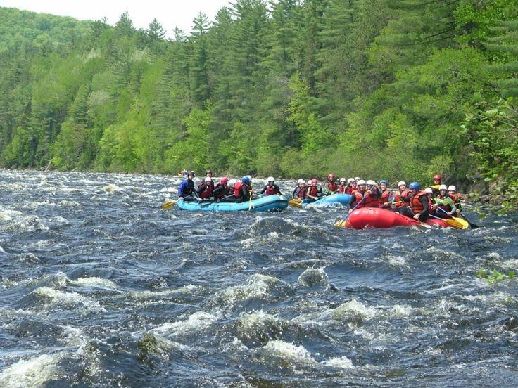 Rafting Rivière Québec Mattawin