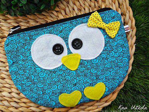 bolsinha owl
