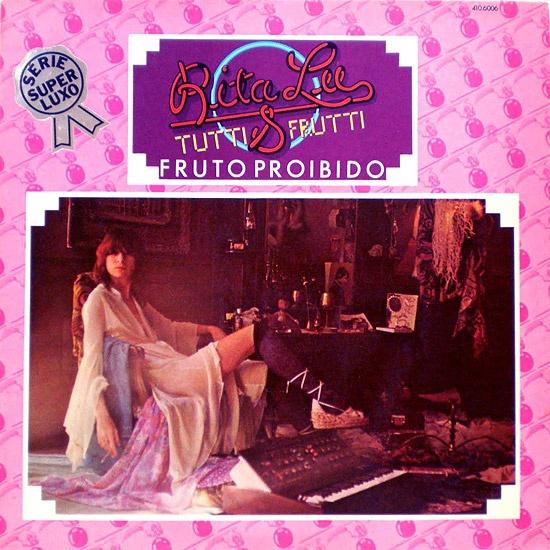 """Clássico - """"Fruto Proibido"""" de Rita Lee & Tutti Frutti 1975. Capa e disco excelentes."""