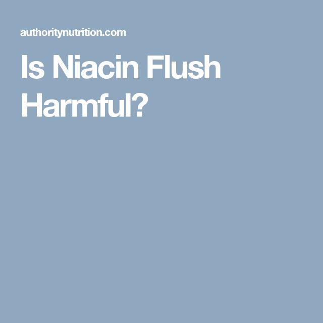 Is Niacin Flush Harmful?