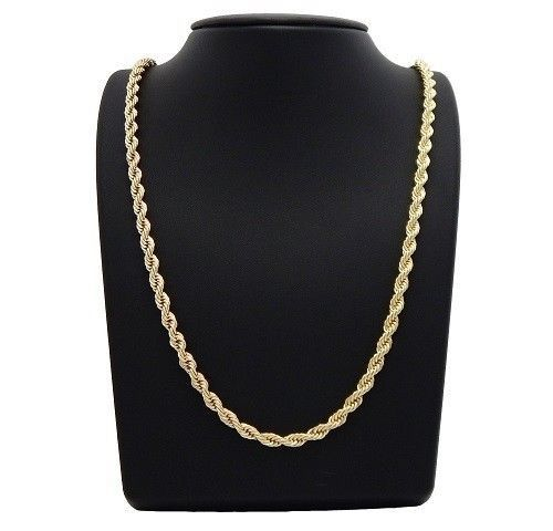 14K Gold Filled Rope Chain 24 inch - Yellow Gold FilledCondition: New #Chain