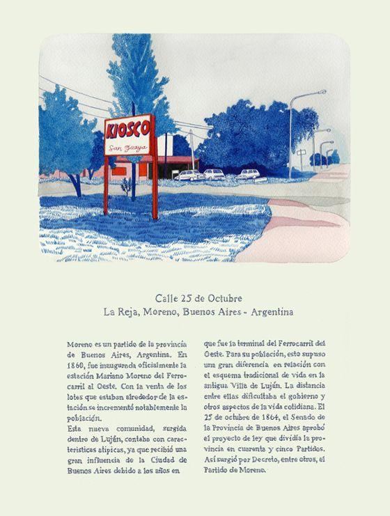 Todas las calles del año. Andrea Canepa.