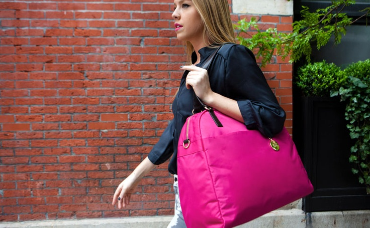Hello PINK! The O.G. by Lo - one of the fab new colors: Suitcase