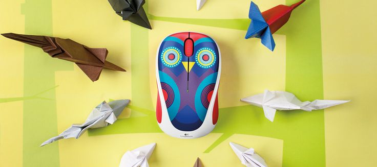 Logitech Colorful Play Collection Wireless Mouse M238.