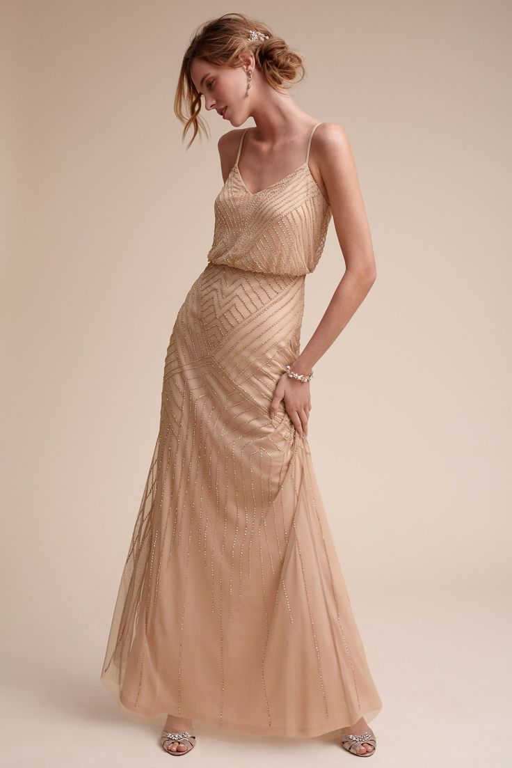 Sophia Dress by adrianna papell, www.adriannapapell.com from @BHLDN