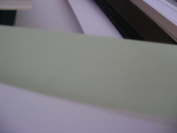 Verde menta, siempre tan tranquilizante :)