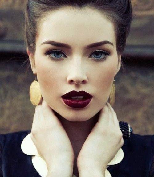 Plum lipstick/Fall trend
