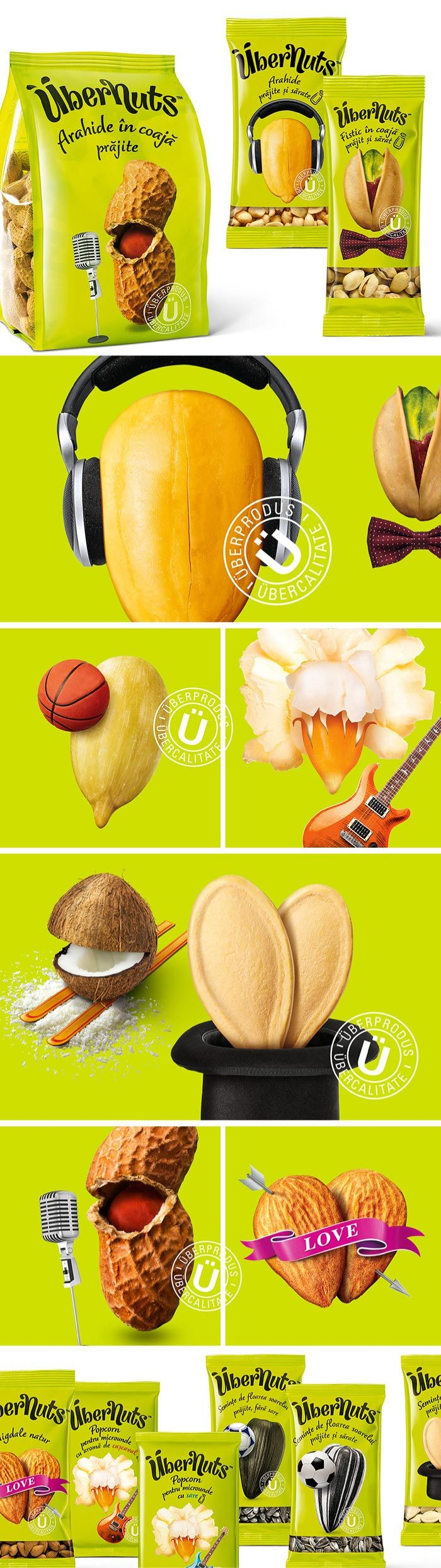 One of my favs Übernuts Nuts packaging curated by Packaging Diva : ) PD