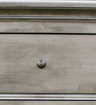 How To Get The Restoration Hardware Zinc Finish With Paint (for The Buffet  Top)