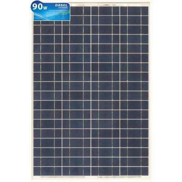 90 Watt Solar Panel With Mc 4 Connectors Dasol Model Ds A18 90 Solar Kit Solar Solar Panels