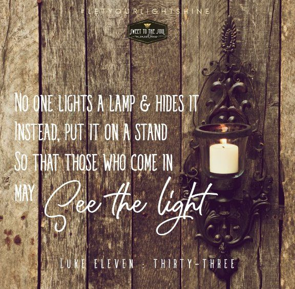 One Lights Lamp Amp Hides Instead Put