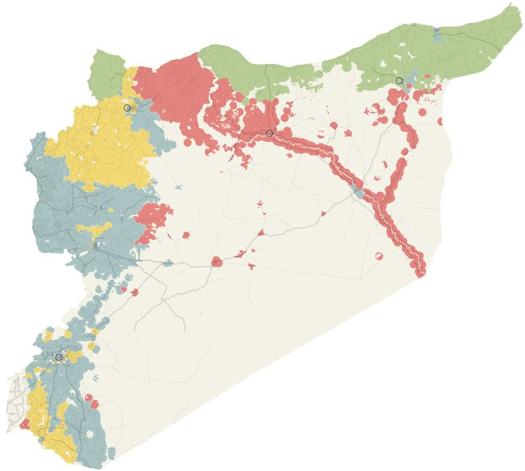 Tracking the Russian Airstrikes in Syria - The New York Times