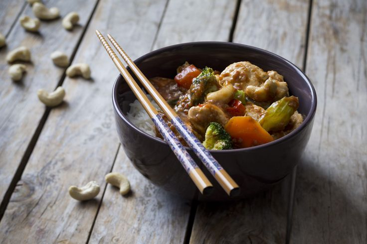 Chicken and Cashews | Everyday Cooking for Thermomix Families