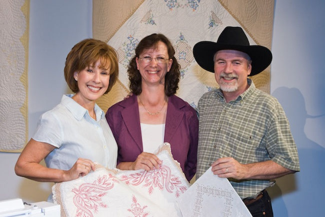 My time with Alex and Ricky on The Quilt Show