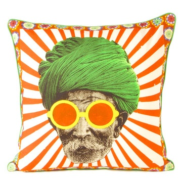 Turban Man 1 Cushion Cover, 27€, now featured on Fab.