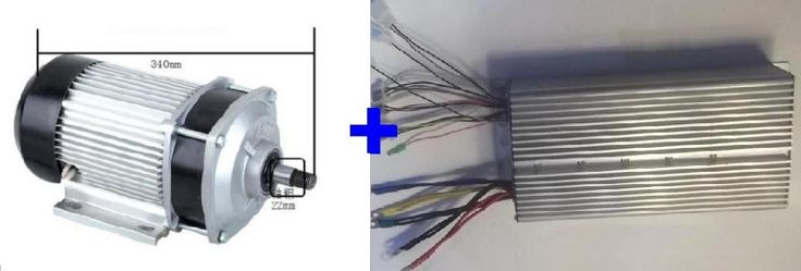 354.20$  Watch now - http://aliiln.worldwells.pw/go.php?t=32665525729 - Fast Shipping 2200W 72V DC 36 mofset  BC736-22090 1pc brushless motor + 1pc controller E-bike electric bicycle speed control 354.20$