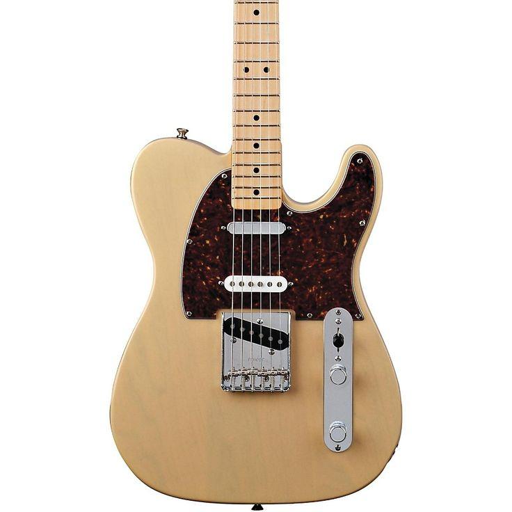 Fender Deluxe Series Nashville Telecaster Electric Guitar Honey Blonde Maple Fretboard