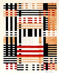 Anni Albers, Design for a wall hanging
