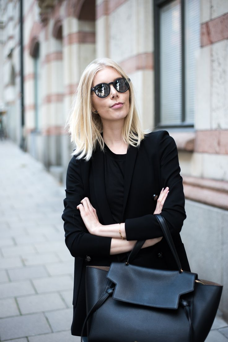 Black blazer - Fall outfit - Minimalism