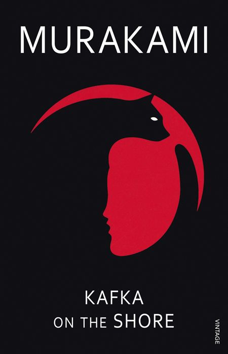 "Book cover for Haruki Murakami's ""Kafka On The Shore"". Illustration by Noma Bar"