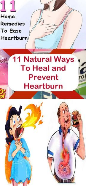 11 Natural Remedies for Heartburn!