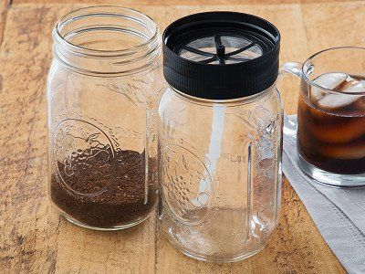 BRUW: Cold Brew Mason Jar Starter Pack