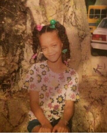 Rihanna as a baby or kid | Celebs as Kids | Pinterest ...