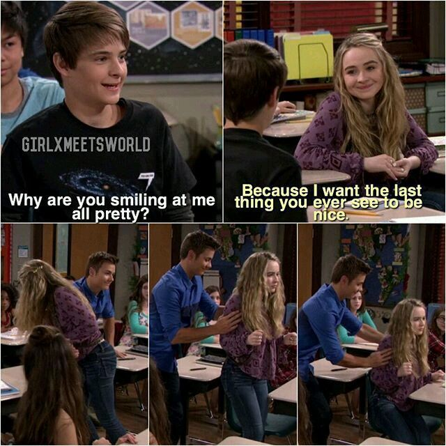 girl meets world lucas and maya moments Maya and lucas are so much better than riley and lucas girl meets world - maya hart is the wisest seventh grader i know such a sweet moment in girl meets hurricane.