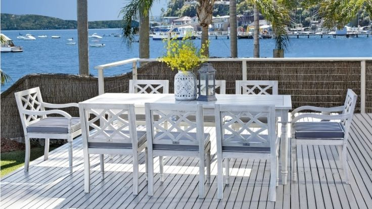 Marie 9 Piece Dining Setting Outdoor Dining Outdoor