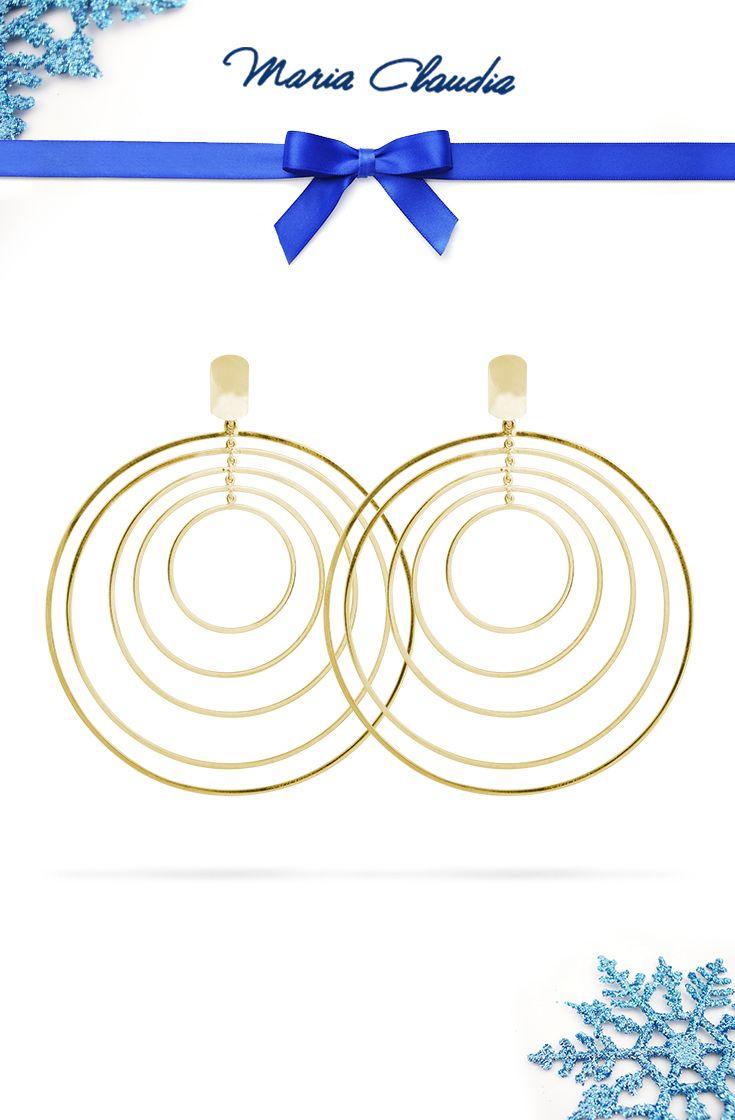 Per #Natale desideri ricevere in #regalo Movimenti Oro? Dai un suggerimento a chi potrebbe regalartelo! #mariaclaudia #gioielli #jewels  #listadesideri #wishlist #orecchini #earring #christmas #gift #gold