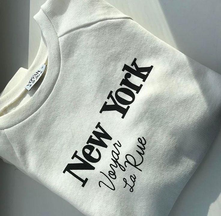 N E W. Y O R K. S W E A T E R.  Hou je ook zoveel van sweaters & steden, dan zijn deze truien geschikt voor jou look!