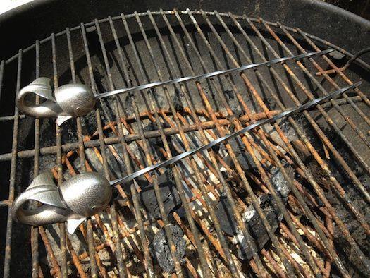 Narwhal BBQ Skewers