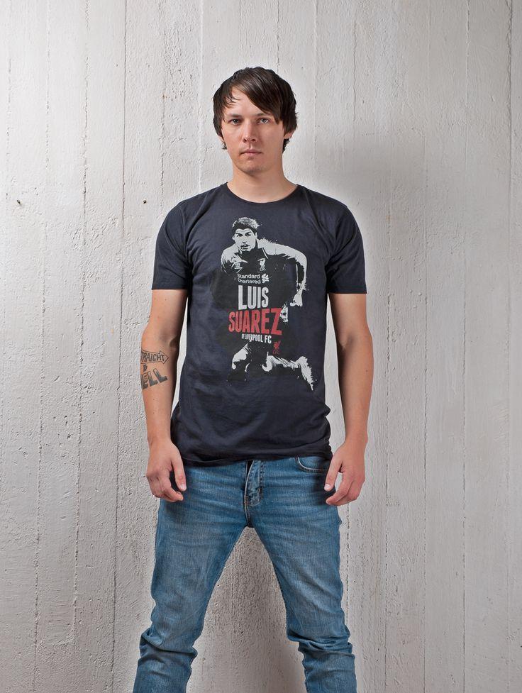 Luis Suarez of Liverpool FC T-Shirt