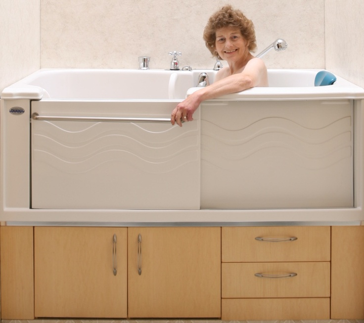 11 best Women Demonstrating Active Living Spa Accessible Bathtub ...