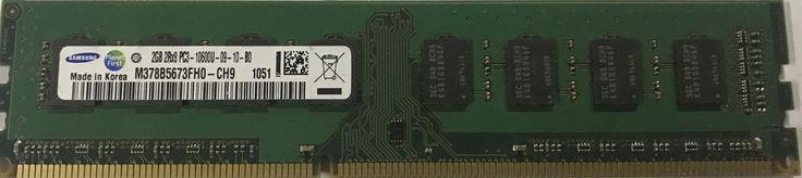 4 X Used Samsung 2GB 2RX8 PC3-1600U Desktop Ram Memory DDR3