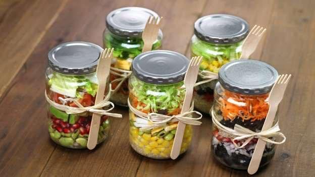 Des lunchs en pot rapide en seulement 5 étapes