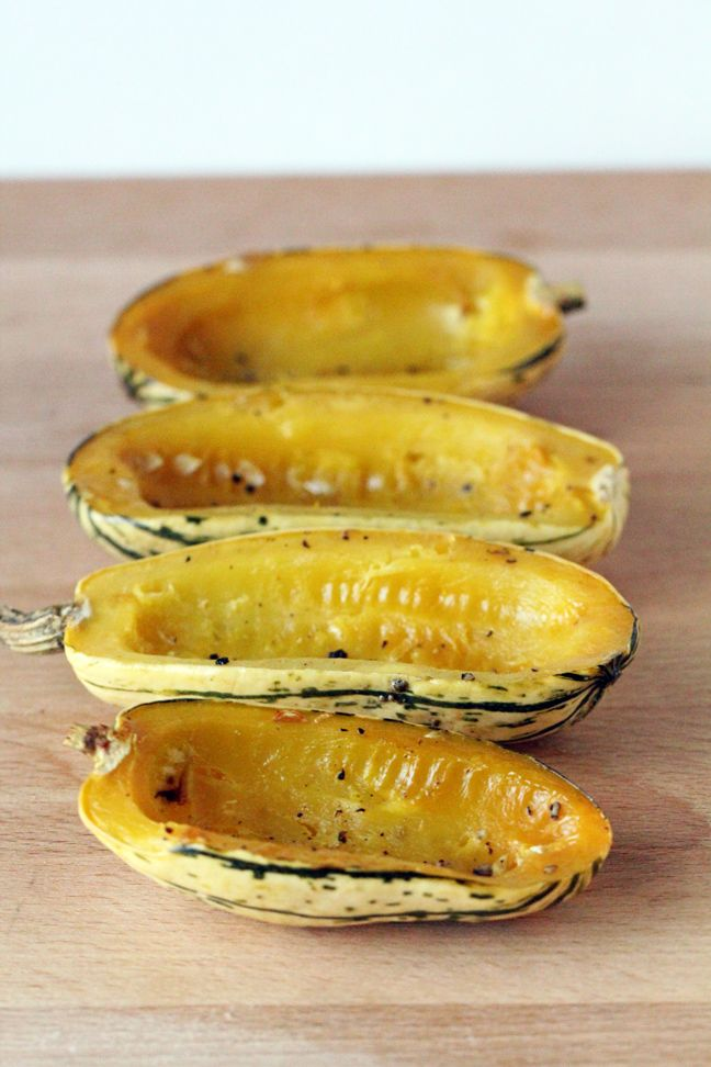 // Roasted delicata squash