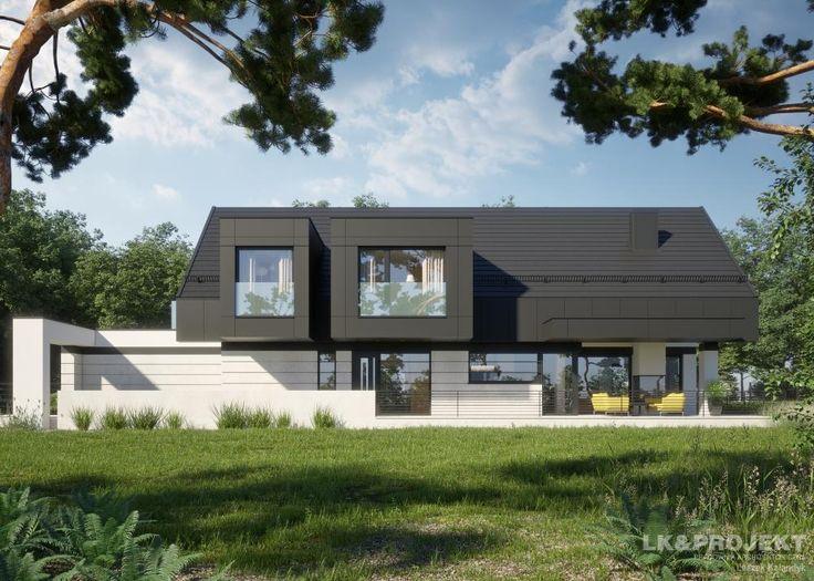 Projekty domów LK&Projekt LK&1336 wizualizacja 8