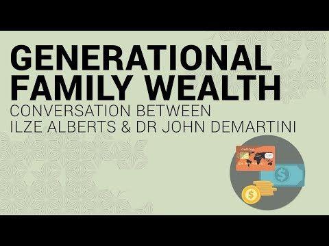 Generational Family Wealth: Coversation between Ilze Alberts and Dr John Demartini -Bella Vida #IlzeAlberts #BellaVida