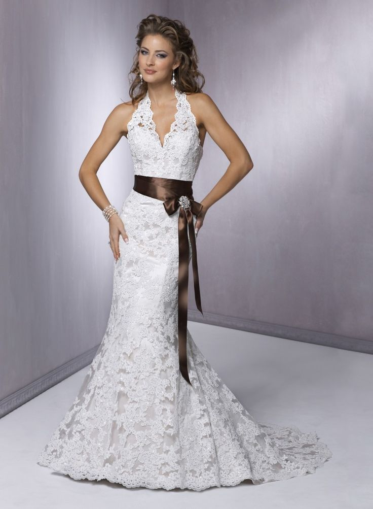 neckline-a-line-wedding-dress