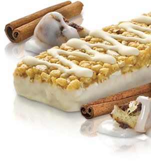 Introducing NEW Atkins Cinnamon Bun Bar. As good as the real thing, but only 3g net carbs. May have to try this!