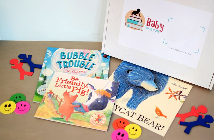 Baby Book Club - May 17 theme: Friendship.  3 books a month.  Lovingly hand chosen. Delivered to your door.
