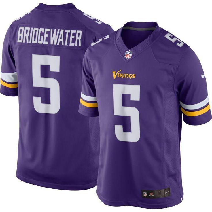 Nike Men's Home Limited Jersey Minnesota Teddy Bridgewater #5