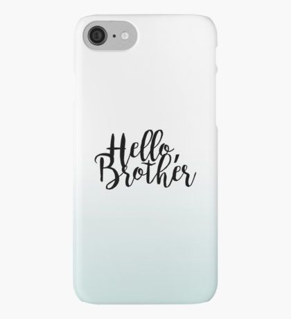 """""""Hello Brother"""" - The Vampire Diaries iPhone Case/Skin"""