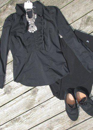 Buy my item on #vinted http://www.vinted.com/womens-clothing/blouses/21075887-ruffled-long-sleeve-shirt