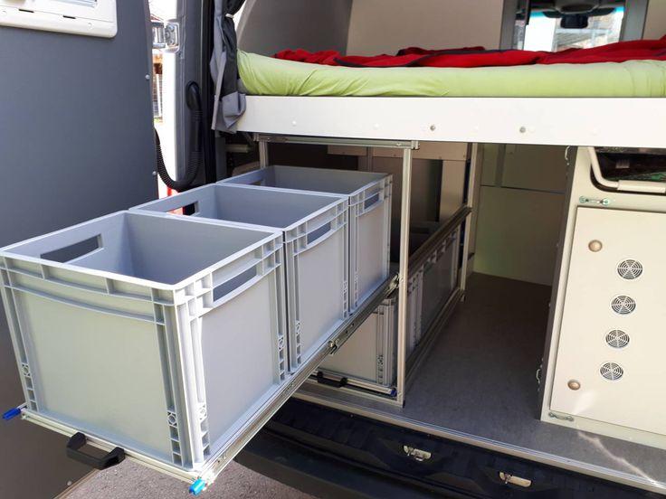 RG Regalbau für Reisemobile | Reisemobil, Kastenwagen in