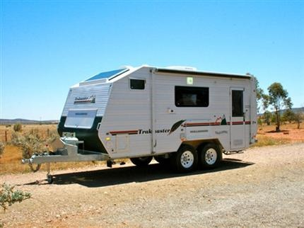 Trakmaster Nullarbor | Off-Road Caravan - these things mean business!