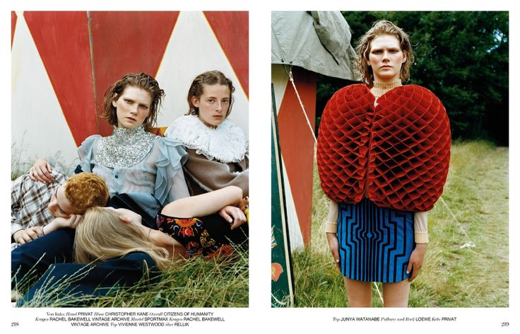 visual optimism; fashion editorials, shows, campaigns & more!: supercamp: marland backus by oliver hadlee pearch for interview germany september 2015