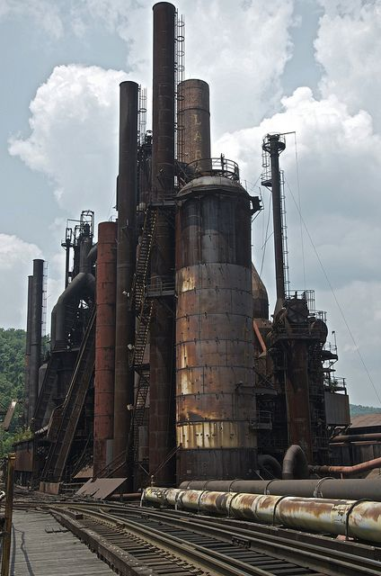 filthcityphotography:      Cardinal Point Steel Mill on Flickr.