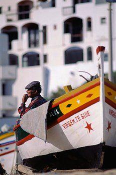Algarve Fishing Boat in Portugal
